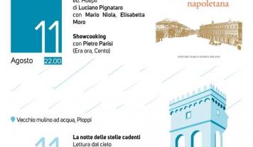 Festival della Dieta mediterranea, un weekend tra libri e cucina, jazz e stelle cadenti