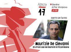 Noir Mediterraneo, al Festival arriva Maurizio De Giovanni