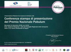 A Napoli si presenta il Premio Nazionale Pabulum
