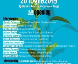Pioppi, il 20 luglio inaugura il quarto Festival della Dieta Mediterranea