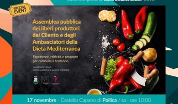 Pollica, il 17 novembre i liberi produttori del Cilento in assemblea