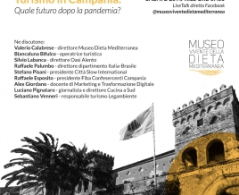 """Turismo in Campania. Quale futuro dopo la pandemia?"" Live talk on Facebook"